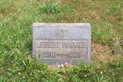 WAGNER, LEBERT - Stark County, Ohio | LEBERT WAGNER - Ohio Gravestone Photos