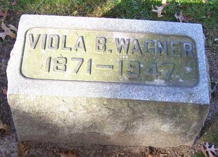 NEASE WAGNER, VIOLA B. - Stark County, Ohio | VIOLA B. NEASE WAGNER - Ohio Gravestone Photos