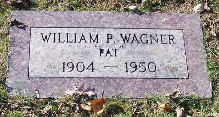 WAGNER, WILLIAM P.  'PAT' - Stark County, Ohio | WILLIAM P.  'PAT' WAGNER - Ohio Gravestone Photos