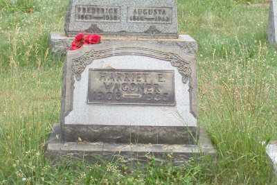 WAGONER, HARRIET E. - Stark County, Ohio | HARRIET E. WAGONER - Ohio Gravestone Photos