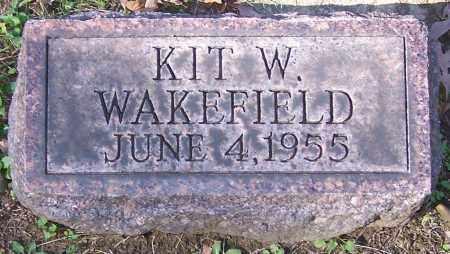 WAKEFIELD, KIT W. - Stark County, Ohio | KIT W. WAKEFIELD - Ohio Gravestone Photos