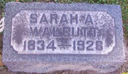 WALCUTT, SARAH A. - Stark County, Ohio   SARAH A. WALCUTT - Ohio Gravestone Photos