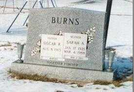 MANGUS WALKER BURNS, SARAH - Stark County, Ohio | SARAH MANGUS WALKER BURNS - Ohio Gravestone Photos