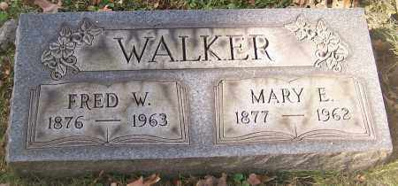 WALKER, MARY E. - Stark County, Ohio | MARY E. WALKER - Ohio Gravestone Photos