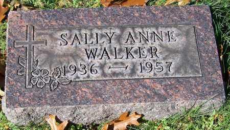 WALKER, SALLY ANNE - Stark County, Ohio | SALLY ANNE WALKER - Ohio Gravestone Photos
