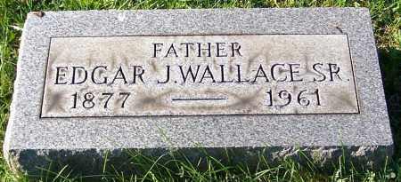 WALLACE SR., EDGAR J. - Stark County, Ohio | EDGAR J. WALLACE SR. - Ohio Gravestone Photos
