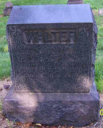 WALTER, LULU E. - Stark County, Ohio | LULU E. WALTER - Ohio Gravestone Photos