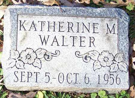 WALTER, KATHERINE M. - Stark County, Ohio | KATHERINE M. WALTER - Ohio Gravestone Photos