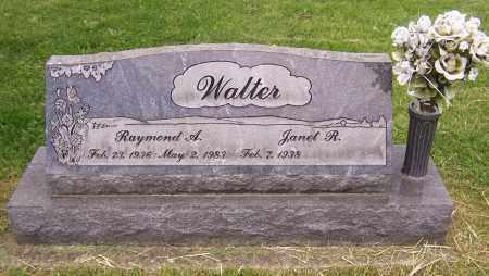 WALTER, RAYMOND A. - Stark County, Ohio | RAYMOND A. WALTER - Ohio Gravestone Photos