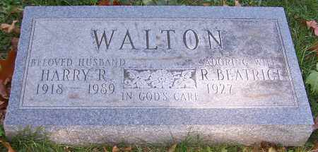 WALTON, HARRY R. - Stark County, Ohio | HARRY R. WALTON - Ohio Gravestone Photos