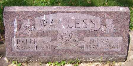 WANLESS, NORA L. - Stark County, Ohio | NORA L. WANLESS - Ohio Gravestone Photos