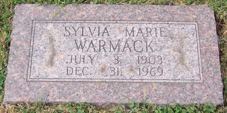 WARMACK, SYLVIA MARIE - Stark County, Ohio   SYLVIA MARIE WARMACK - Ohio Gravestone Photos