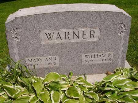 JONES WARNER, MARY ANN - Stark County, Ohio | MARY ANN JONES WARNER - Ohio Gravestone Photos