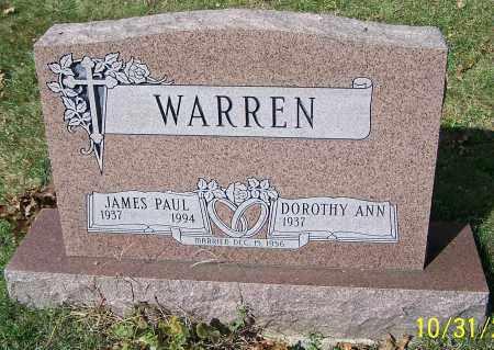 WARREN, DOROTHY ANN - Stark County, Ohio   DOROTHY ANN WARREN - Ohio Gravestone Photos