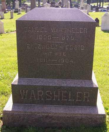 WARSHELER, SAMUEL - Stark County, Ohio | SAMUEL WARSHELER - Ohio Gravestone Photos