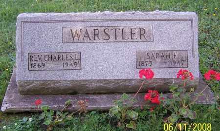 FINK WARSTLER, SARAH F. - Stark County, Ohio | SARAH F. FINK WARSTLER - Ohio Gravestone Photos