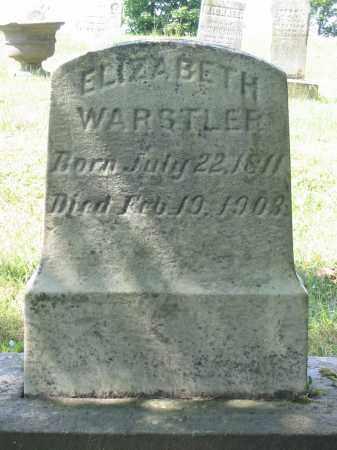 RINGER WARSTLER, ELIZABETH - Stark County, Ohio | ELIZABETH RINGER WARSTLER - Ohio Gravestone Photos