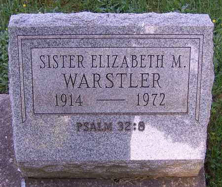 WARSTLER, ELIZABETH M. (SISTER) - Stark County, Ohio | ELIZABETH M. (SISTER) WARSTLER - Ohio Gravestone Photos