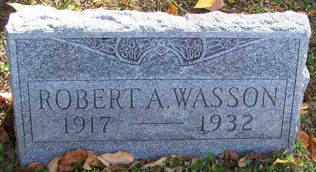 WASSON, ROBERT A. - Stark County, Ohio | ROBERT A. WASSON - Ohio Gravestone Photos