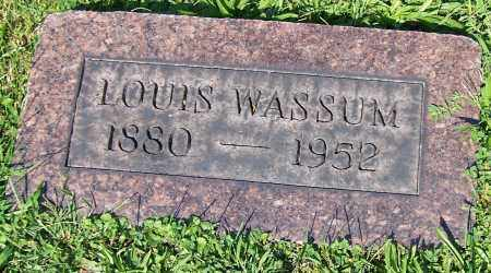 WASSUM, LOUIS - Stark County, Ohio | LOUIS WASSUM - Ohio Gravestone Photos