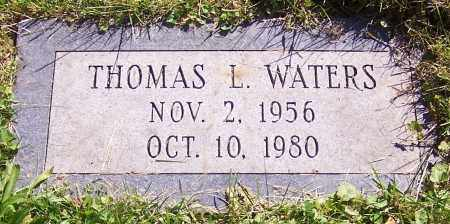 WATERS, THOMAS L. - Stark County, Ohio | THOMAS L. WATERS - Ohio Gravestone Photos