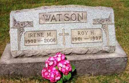 BROWN WATSON, IRENE M. - Stark County, Ohio | IRENE M. BROWN WATSON - Ohio Gravestone Photos