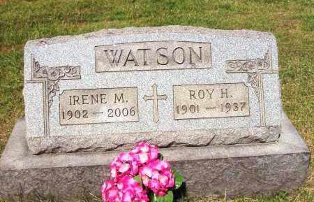 WATSON, IRENE M. - Stark County, Ohio | IRENE M. WATSON - Ohio Gravestone Photos