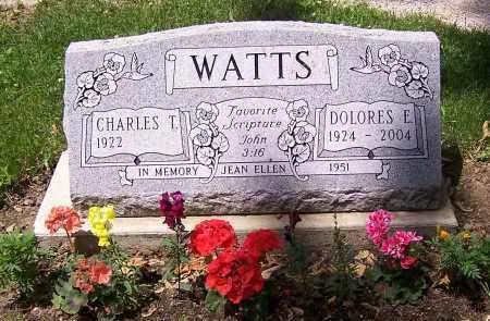 WATTS, CHARLES T. - Stark County, Ohio | CHARLES T. WATTS - Ohio Gravestone Photos