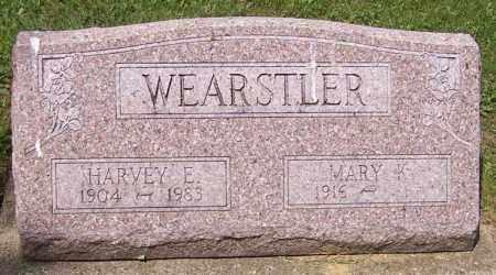 WEARSTLER, HARVEY E. - Stark County, Ohio | HARVEY E. WEARSTLER - Ohio Gravestone Photos