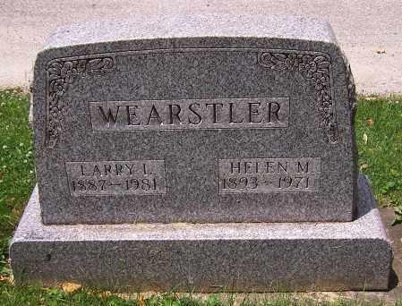 WEARSTLER, HELEN M. - Stark County, Ohio | HELEN M. WEARSTLER - Ohio Gravestone Photos