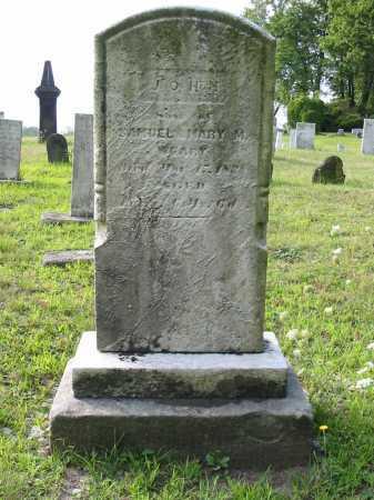 WEARY, JOHN - Stark County, Ohio | JOHN WEARY - Ohio Gravestone Photos