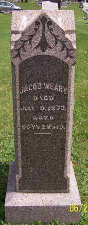 WEARY, JACOB - Stark County, Ohio | JACOB WEARY - Ohio Gravestone Photos
