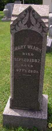 WEARY, MARY - Stark County, Ohio | MARY WEARY - Ohio Gravestone Photos