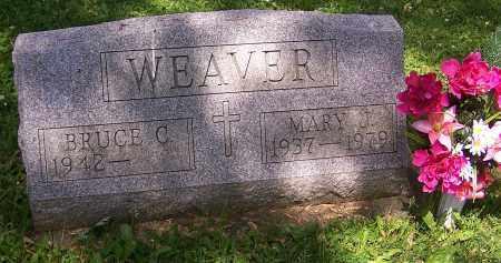WEAVER, MARY J. - Stark County, Ohio | MARY J. WEAVER - Ohio Gravestone Photos