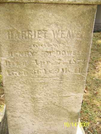 WEAVER, HARRIET - Stark County, Ohio | HARRIET WEAVER - Ohio Gravestone Photos