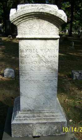 WEAVER, SAMUEL - Stark County, Ohio | SAMUEL WEAVER - Ohio Gravestone Photos