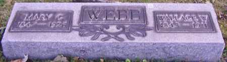 WEBB, MARY C. - Stark County, Ohio | MARY C. WEBB - Ohio Gravestone Photos