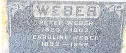 WEBER, CAROLINE - Stark County, Ohio | CAROLINE WEBER - Ohio Gravestone Photos