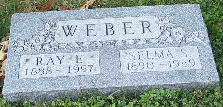 WEBER, RAY E. - Stark County, Ohio | RAY E. WEBER - Ohio Gravestone Photos
