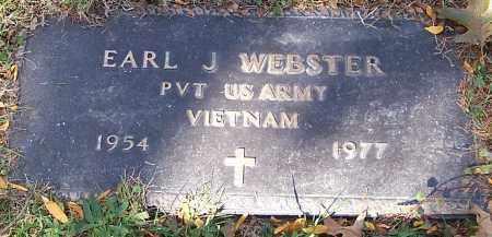 WEBSTER, EARL J. - Stark County, Ohio | EARL J. WEBSTER - Ohio Gravestone Photos