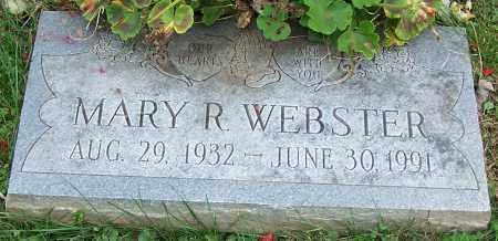 WEBSTER, MARY R. - Stark County, Ohio | MARY R. WEBSTER - Ohio Gravestone Photos