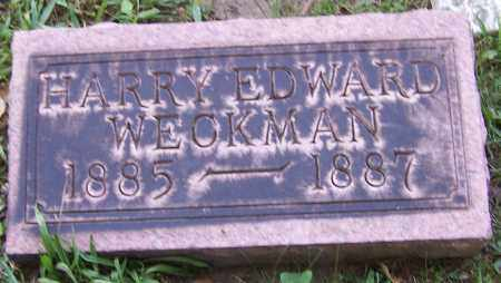 WECKMAN, HARRY EDWARD - Stark County, Ohio | HARRY EDWARD WECKMAN - Ohio Gravestone Photos