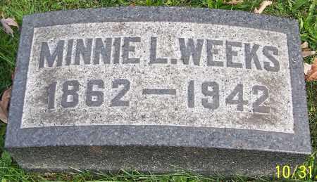 WEEKS, MINNIE L. - Stark County, Ohio | MINNIE L. WEEKS - Ohio Gravestone Photos