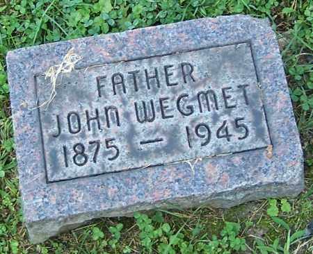WEGMET, JOHN - Stark County, Ohio | JOHN WEGMET - Ohio Gravestone Photos