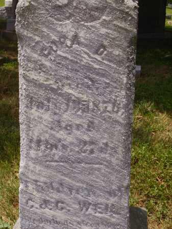 WEIL, CORA D. - Stark County, Ohio | CORA D. WEIL - Ohio Gravestone Photos