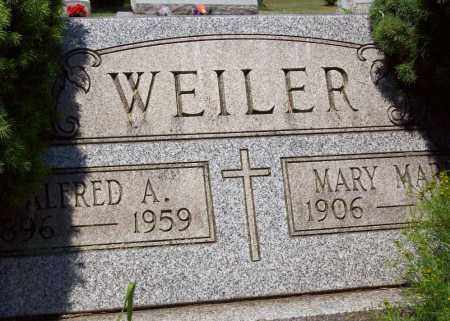 WEILER, ALFRED A. - Stark County, Ohio | ALFRED A. WEILER - Ohio Gravestone Photos