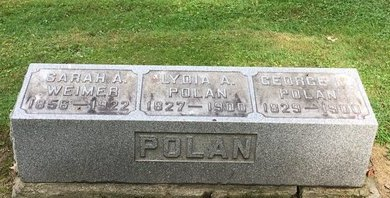 POLAN, LYDIA A. - Stark County, Ohio | LYDIA A. POLAN - Ohio Gravestone Photos