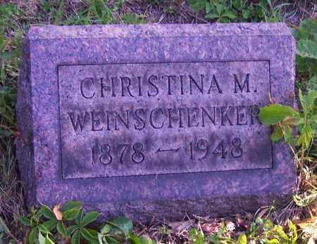 WEINSCHENKER, CHRISTINA M. - Stark County, Ohio | CHRISTINA M. WEINSCHENKER - Ohio Gravestone Photos