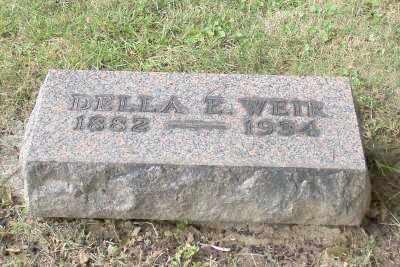 WEIR, DELLA E. - Stark County, Ohio | DELLA E. WEIR - Ohio Gravestone Photos