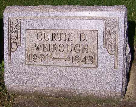WEIROUGH, CURTIS D. - Stark County, Ohio | CURTIS D. WEIROUGH - Ohio Gravestone Photos